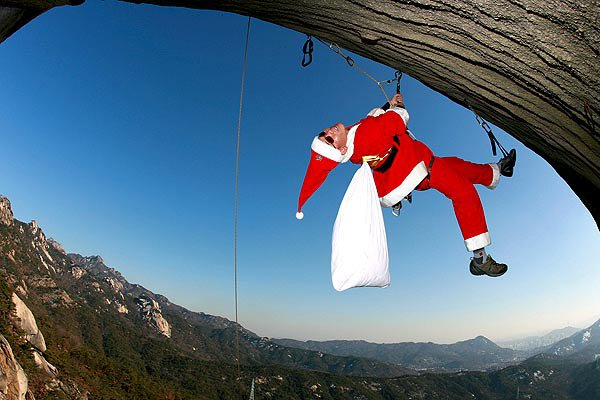 Happy climber Christmas!