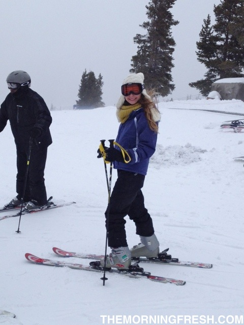I'll totally admit it, I felt like a bad ass on those bunny slopes in Vail.