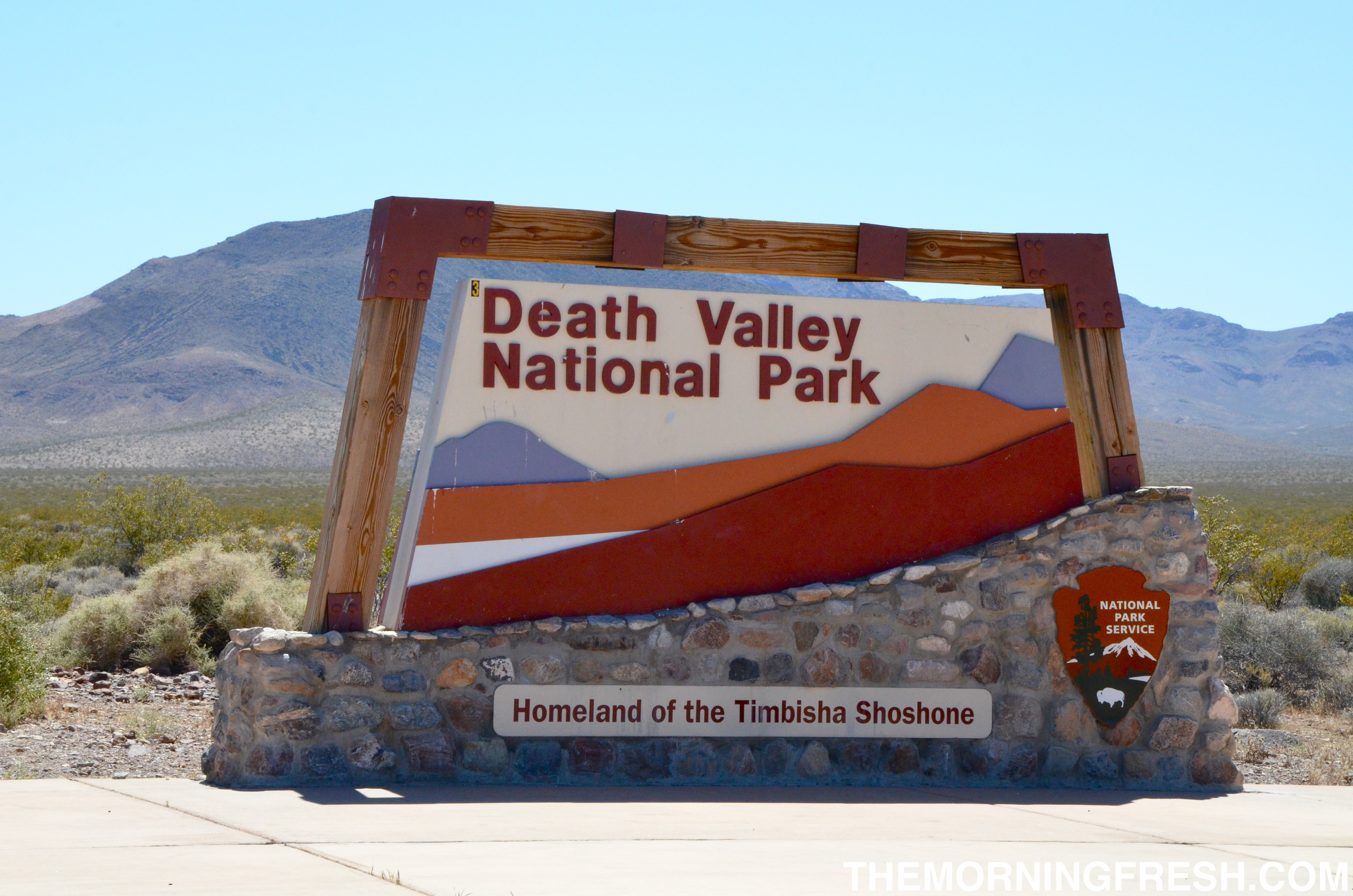 a sandy walk up the mesquite flat dunes in death valley national