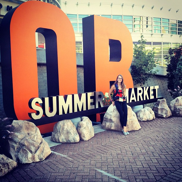 Lovin' my experience at my first Outdoor Retailer show in Salt Lake City!