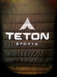 Teton Sports never fails to impress me with the giant sleeping bags displayed in their showroom.