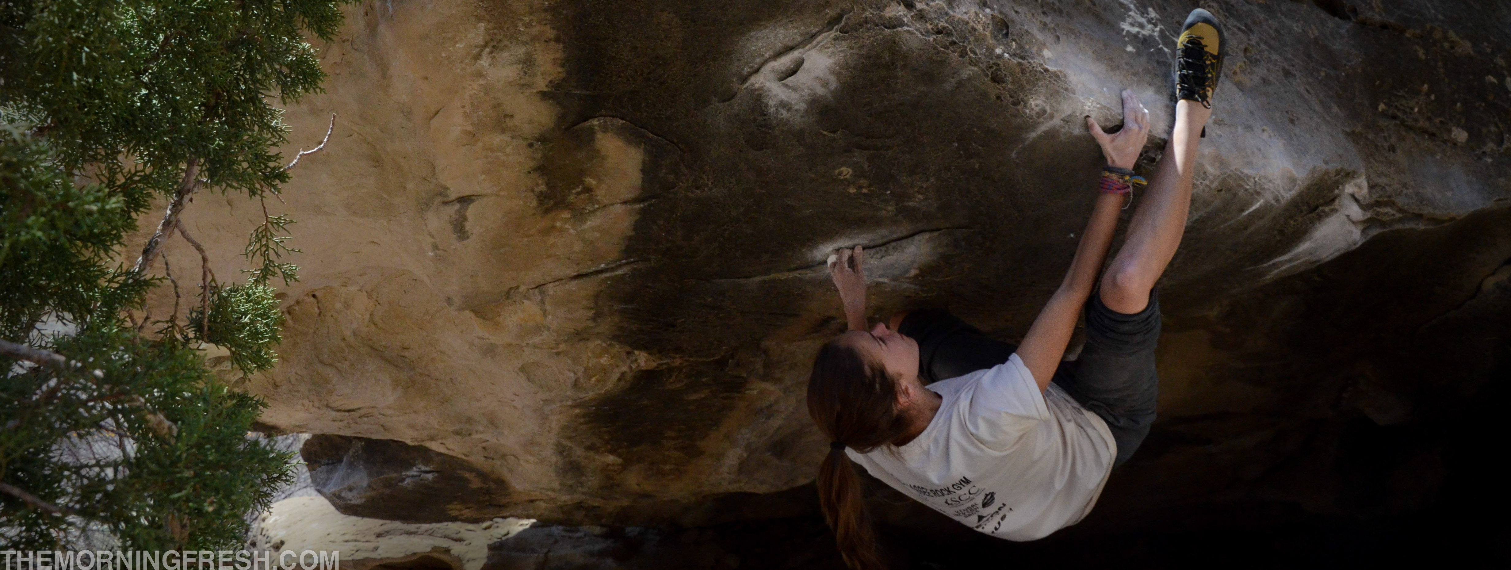 Working the beta on my current nemisis, Kill By Numbers (V5) in Joe's Valley.