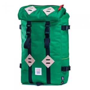 My sweet new kelly green Klettersack from Topo Designs USA!
