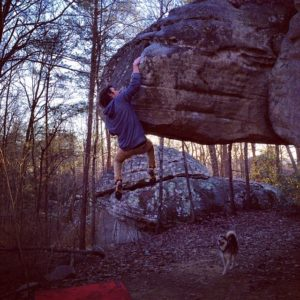 Bo Durham crushes The Price is Right (V8) at Rocktown in GA.