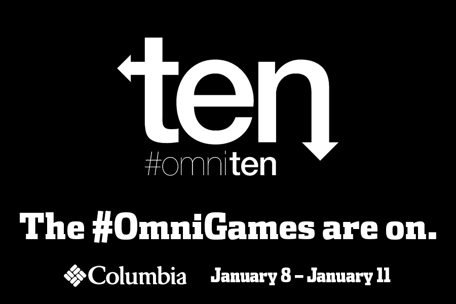 The #omnigames with Columbia Sportswear are on!