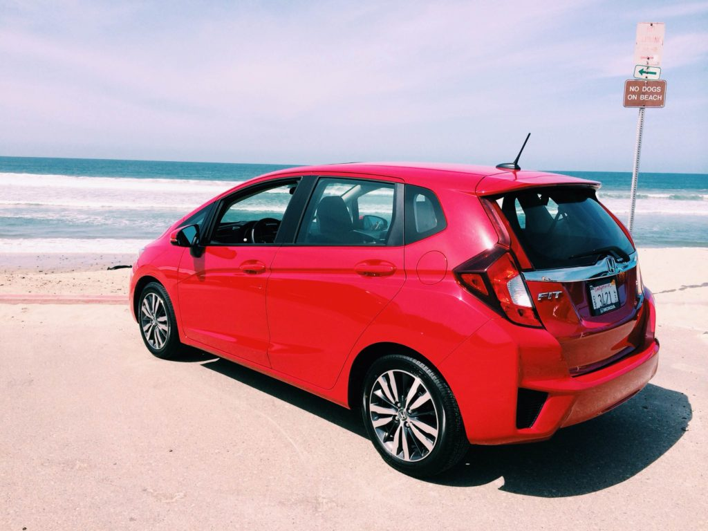 The 2015 Honda Fit. Photo by Katie Boué
