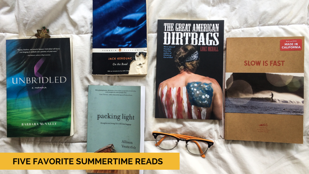 Top 5 Adventurous Summertime Reads