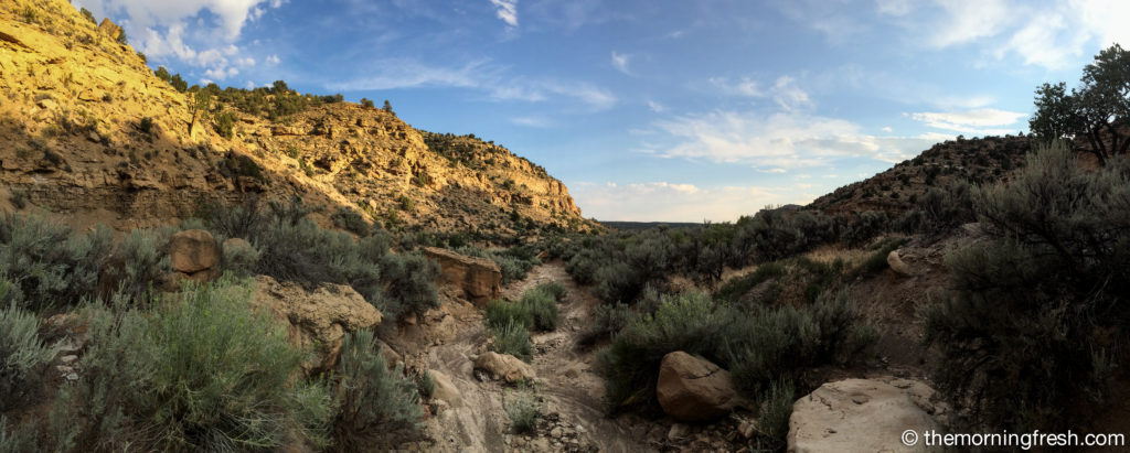 A quick view of Sego Canyon in Utah.