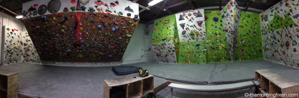 My new home sweet home, the Denver Bouldering Club.