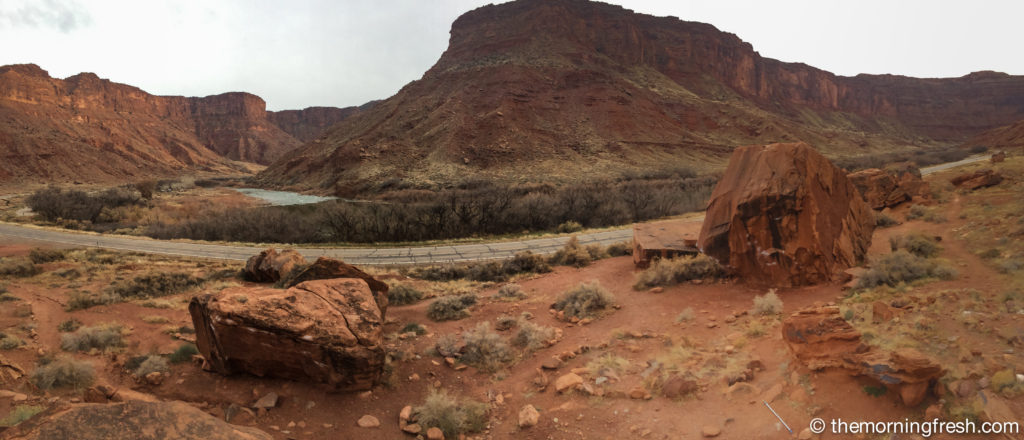 Love the view from Big Bend boulders in Moab!