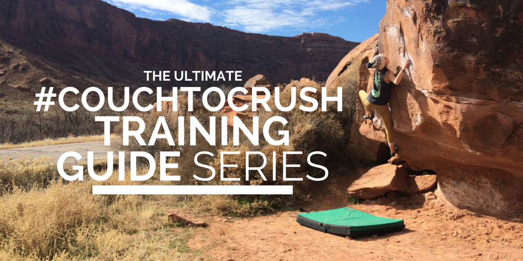 #couchtocrush climbing training guide