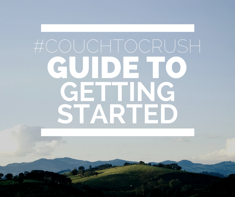 #couchtocrush guide to getting started with climbing training