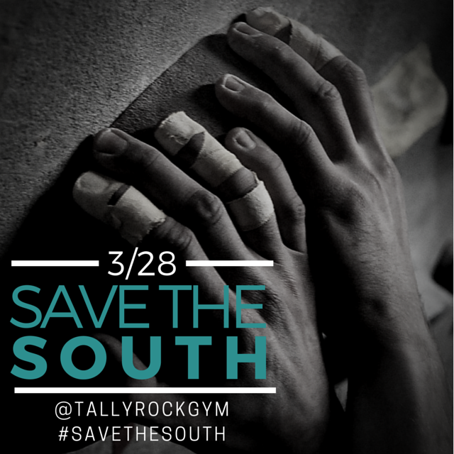Tallahassee Rock Gym Save The South