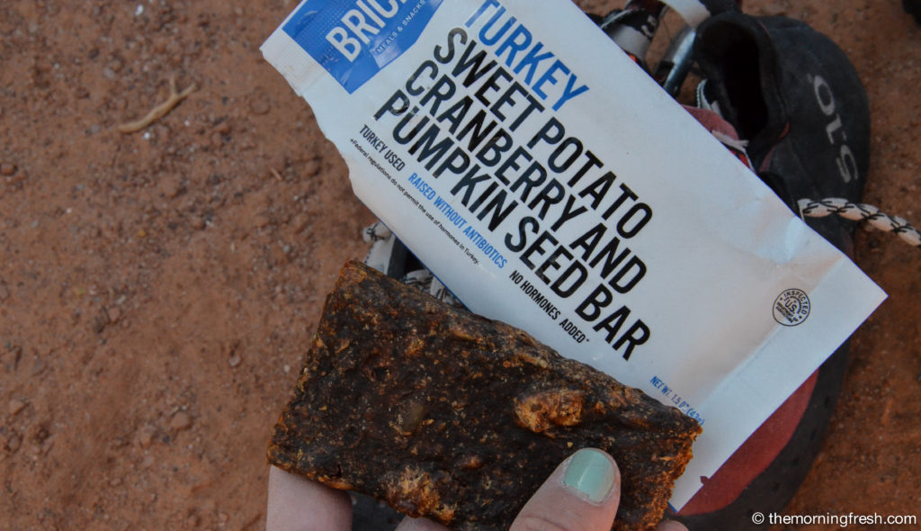 A review of Bricks Bars meat energy bars.