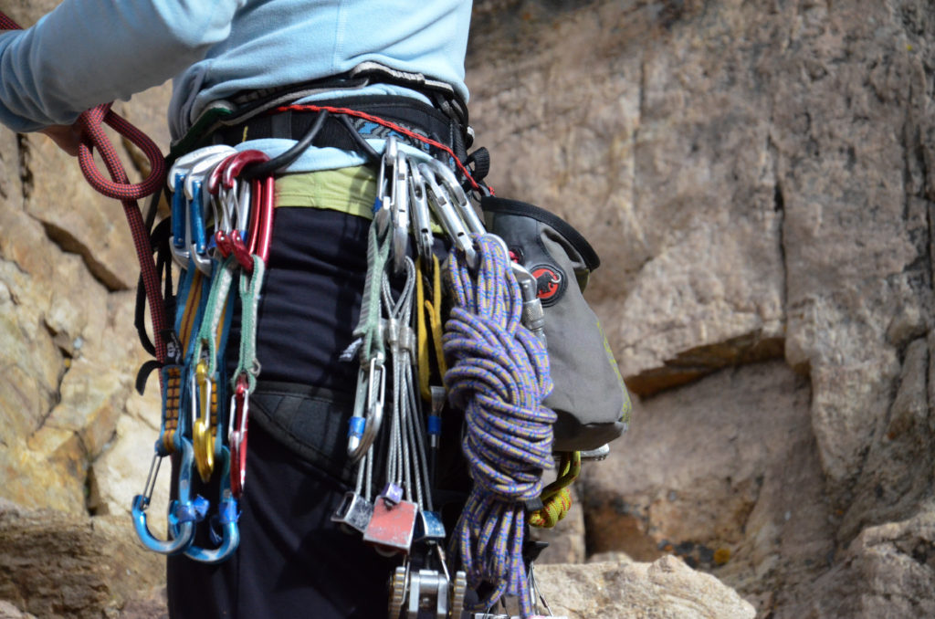 Women's Wilderness climbing course in Boulder Canyon.