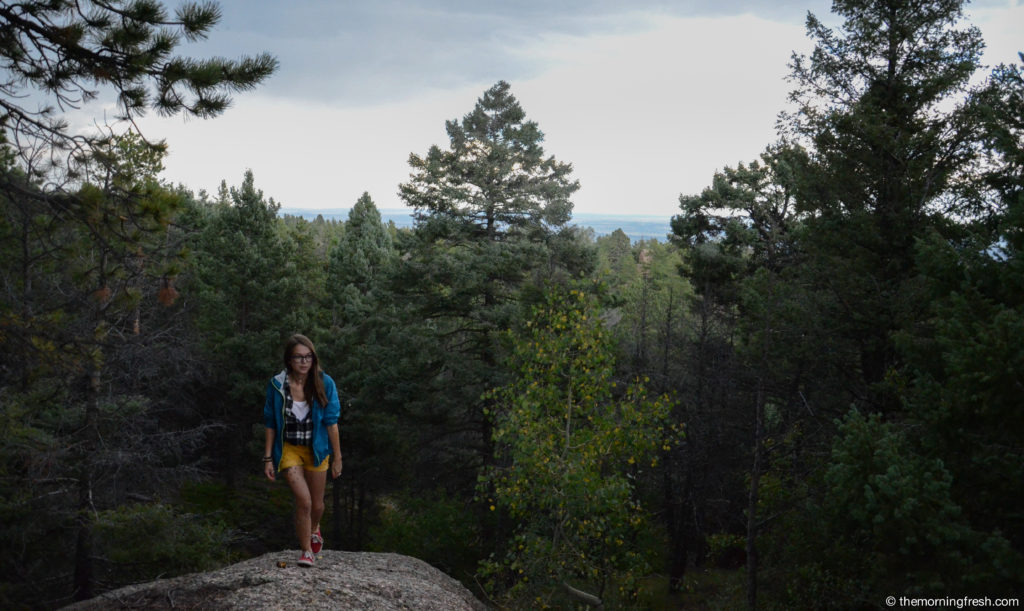 Hiking in the South Platte area of Colorado's Front Range, pre-Airbnb life.